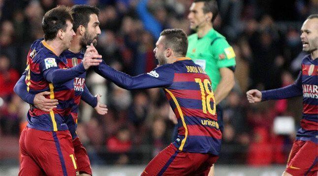 Barcelona favorito Valencia Copa del Rey