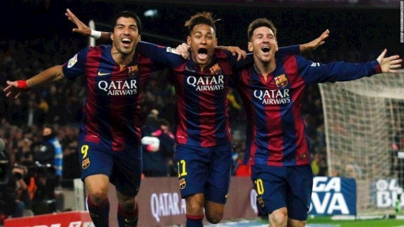 MSN Messi Luis Suarez Neymar