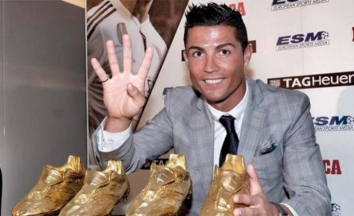 Cristiano Ronaldo bota-de-oro
