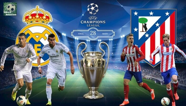 FINAL champions league real madrid atletico madrid