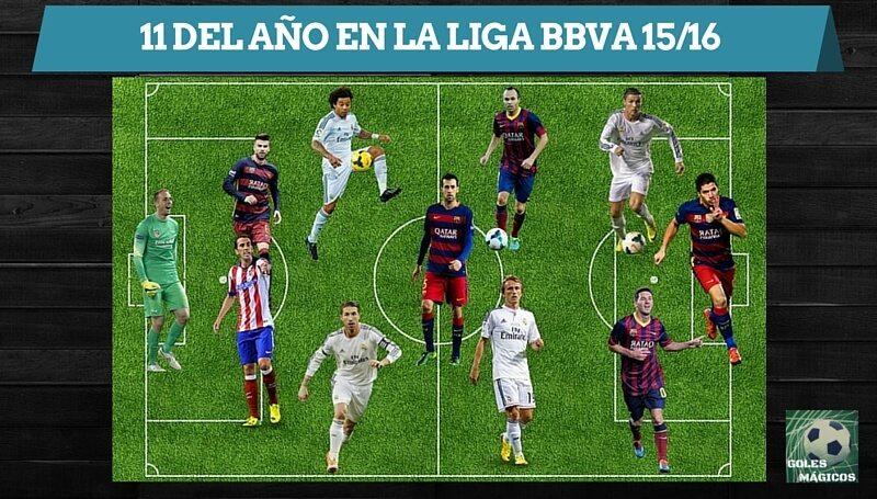 11 ideal liga bbva