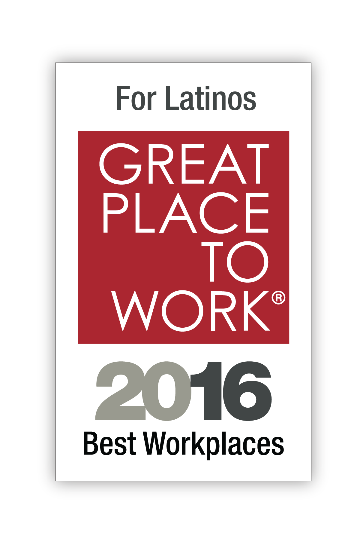 Best Workplaces for Latinos 2016 Image