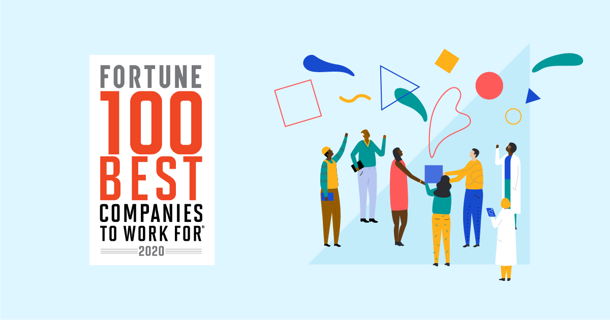 Fortune 100 Best Companies To Work For 2020 Great Place To Work