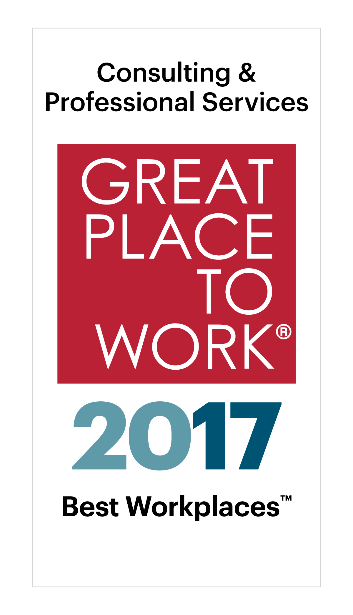 best workplaces in consulting professional services 2017