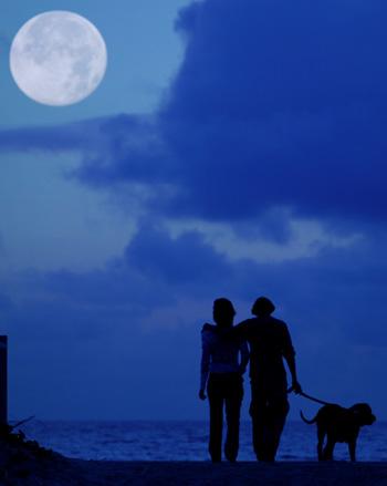 full moon - 4th of july