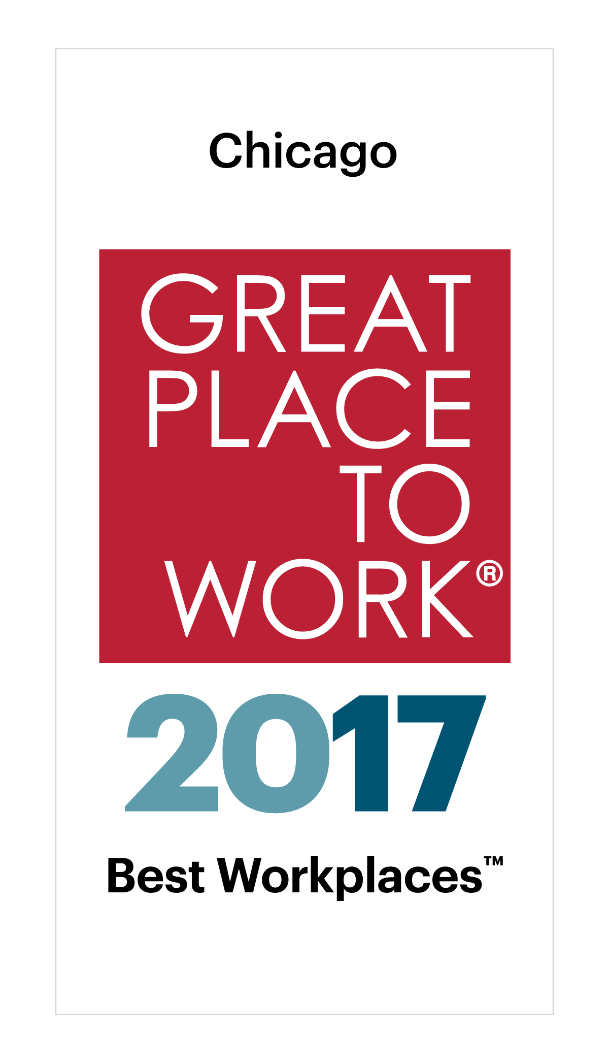 Best Large Workplaces in Chicago Image