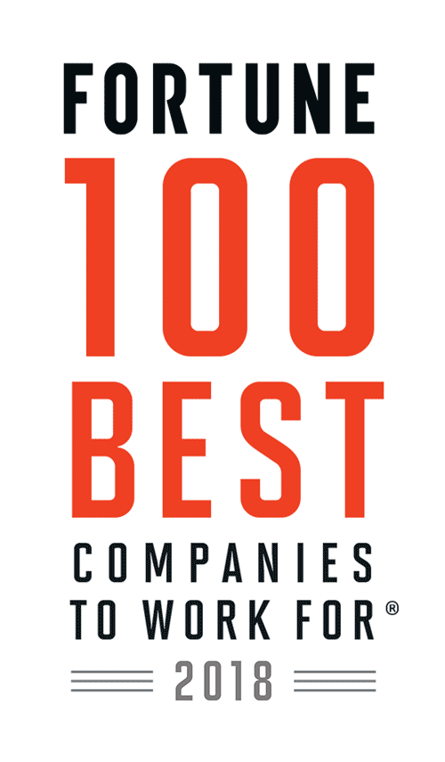Fortune 100 Best Companies to Work For® 2018
