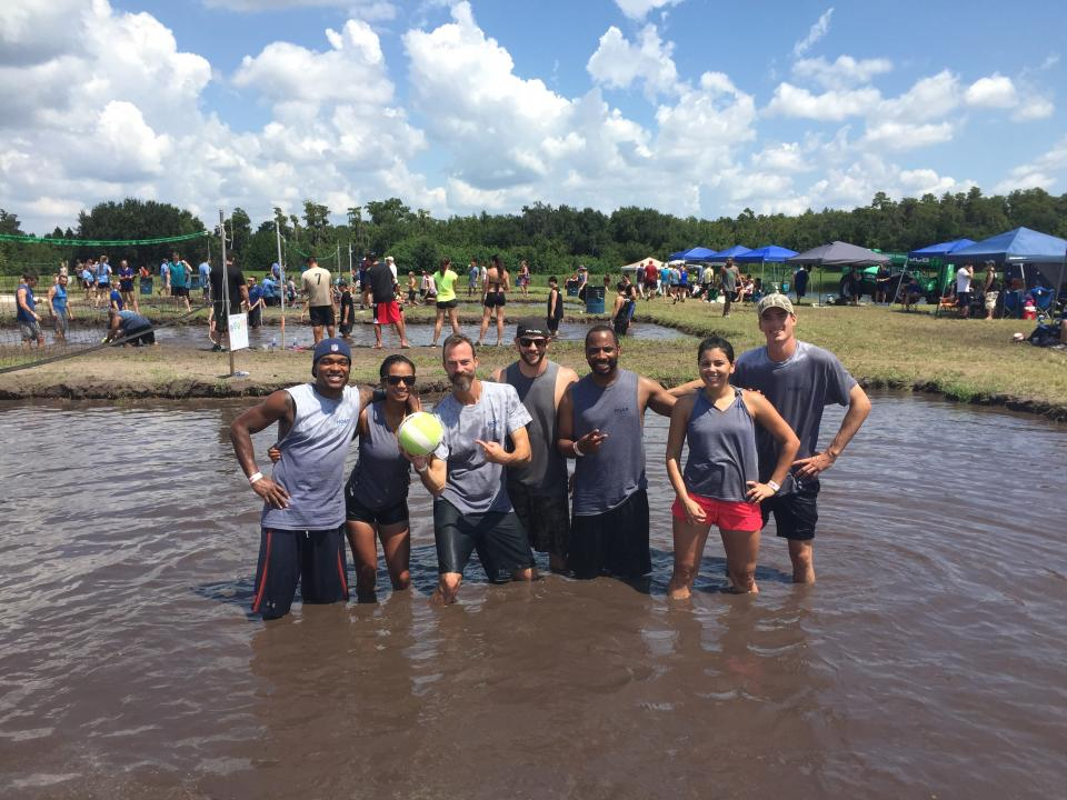March of Dimes Mud Vollyball Tournament