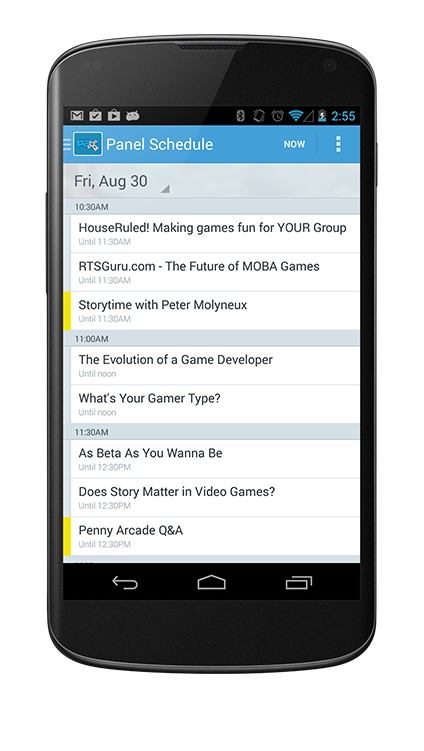 guidebook app for conferences