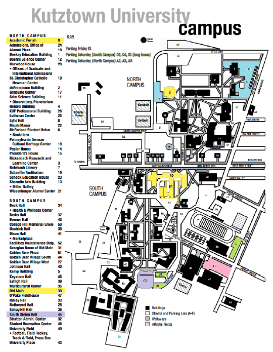 Kutztown College Map Related Keywords & Suggestions   Kutztown
