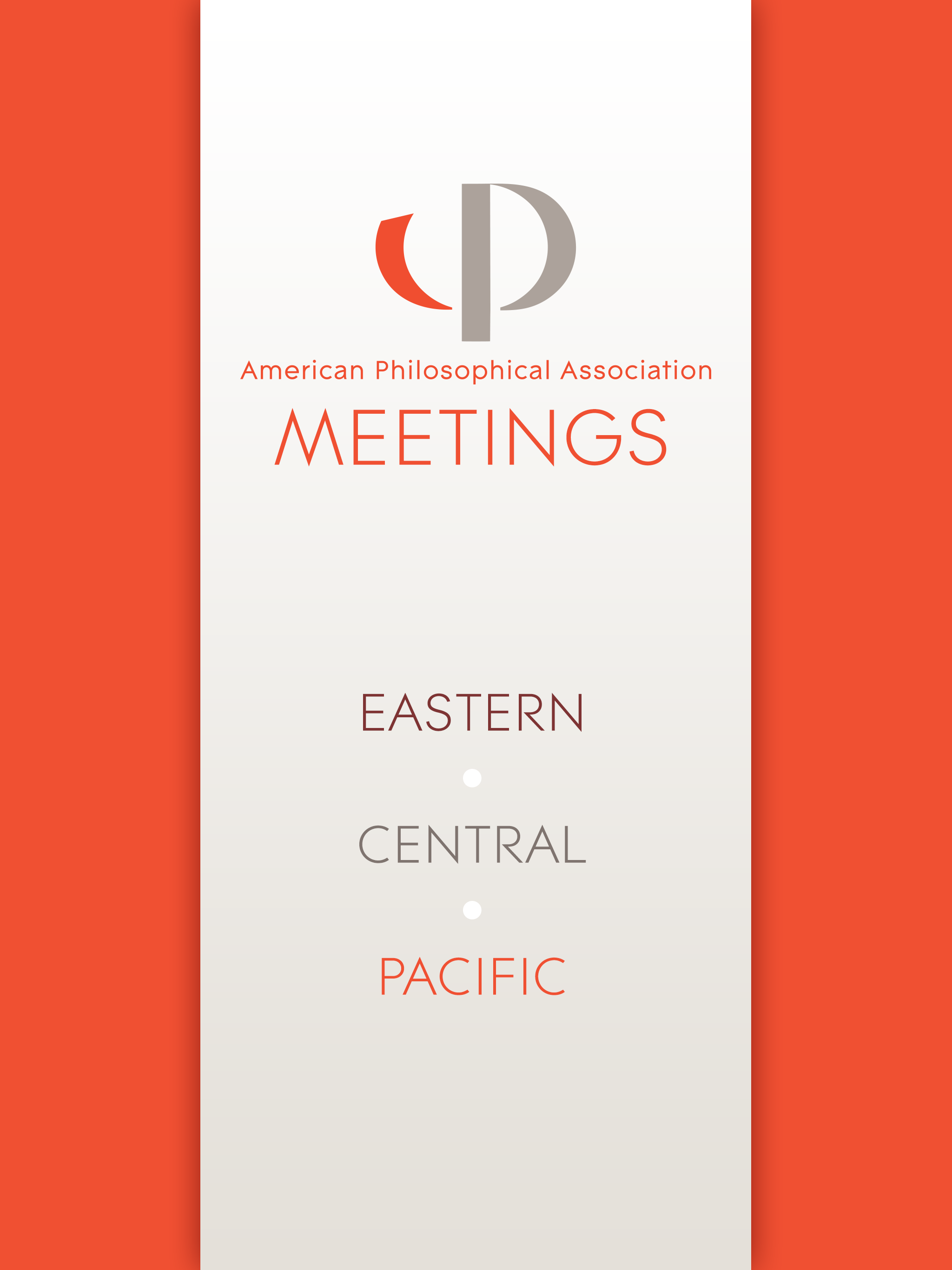 Apa Philosophy Meetings Mobile Guides For Scheduling Maps And More