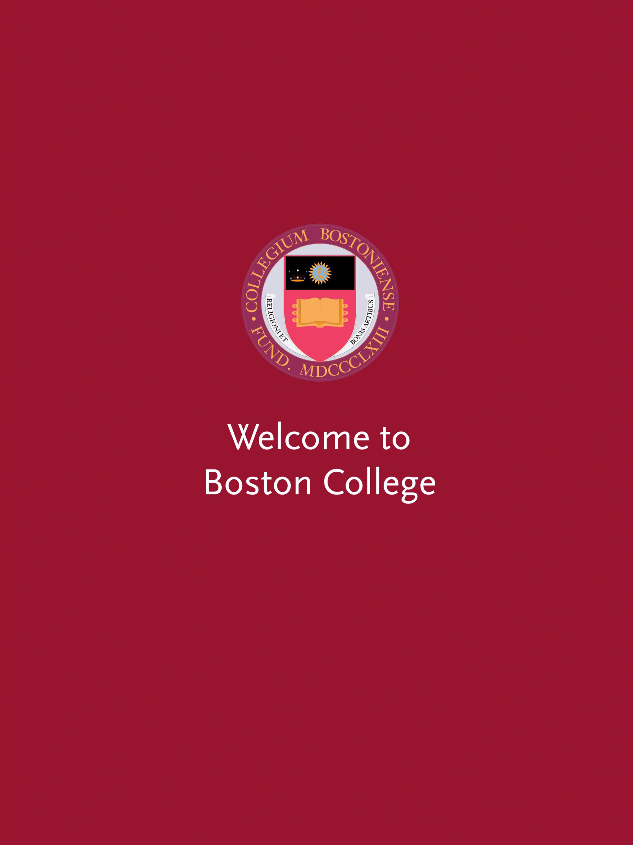 Get The Boston College Welcome Week 2017 Guide Powered