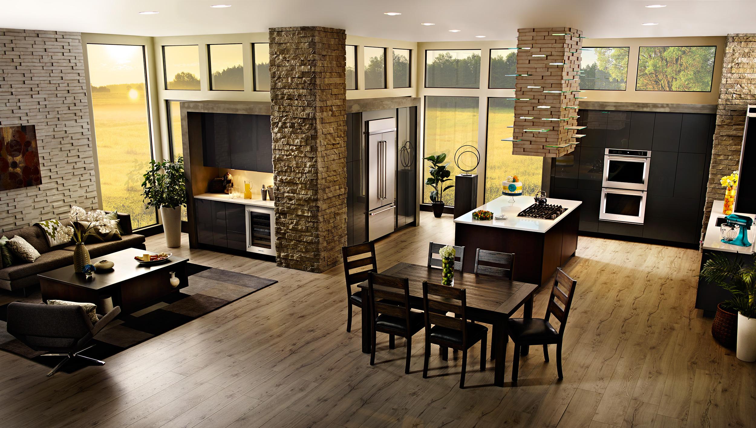 Luxurious KitchenAid Kitchens