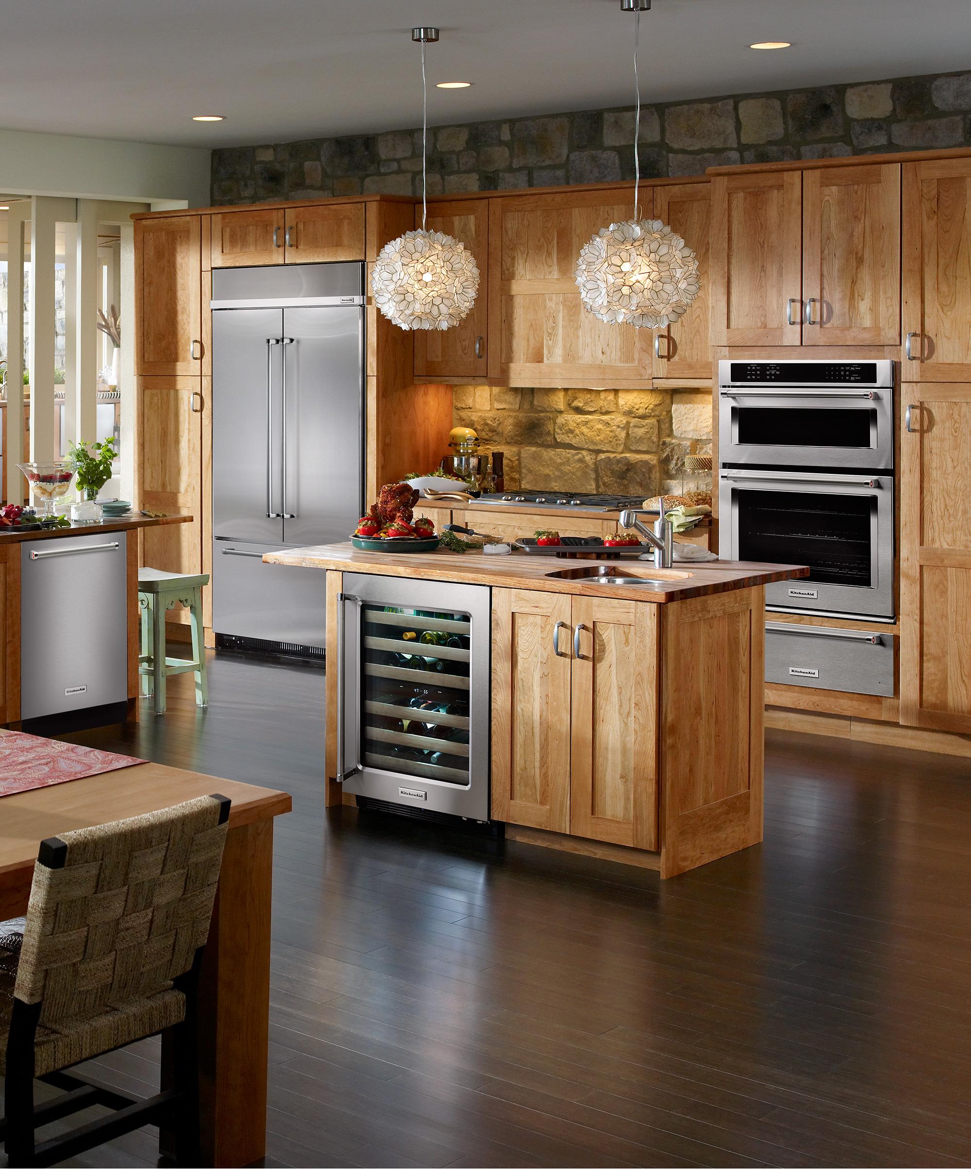Elegant KitchenAid Kitchens