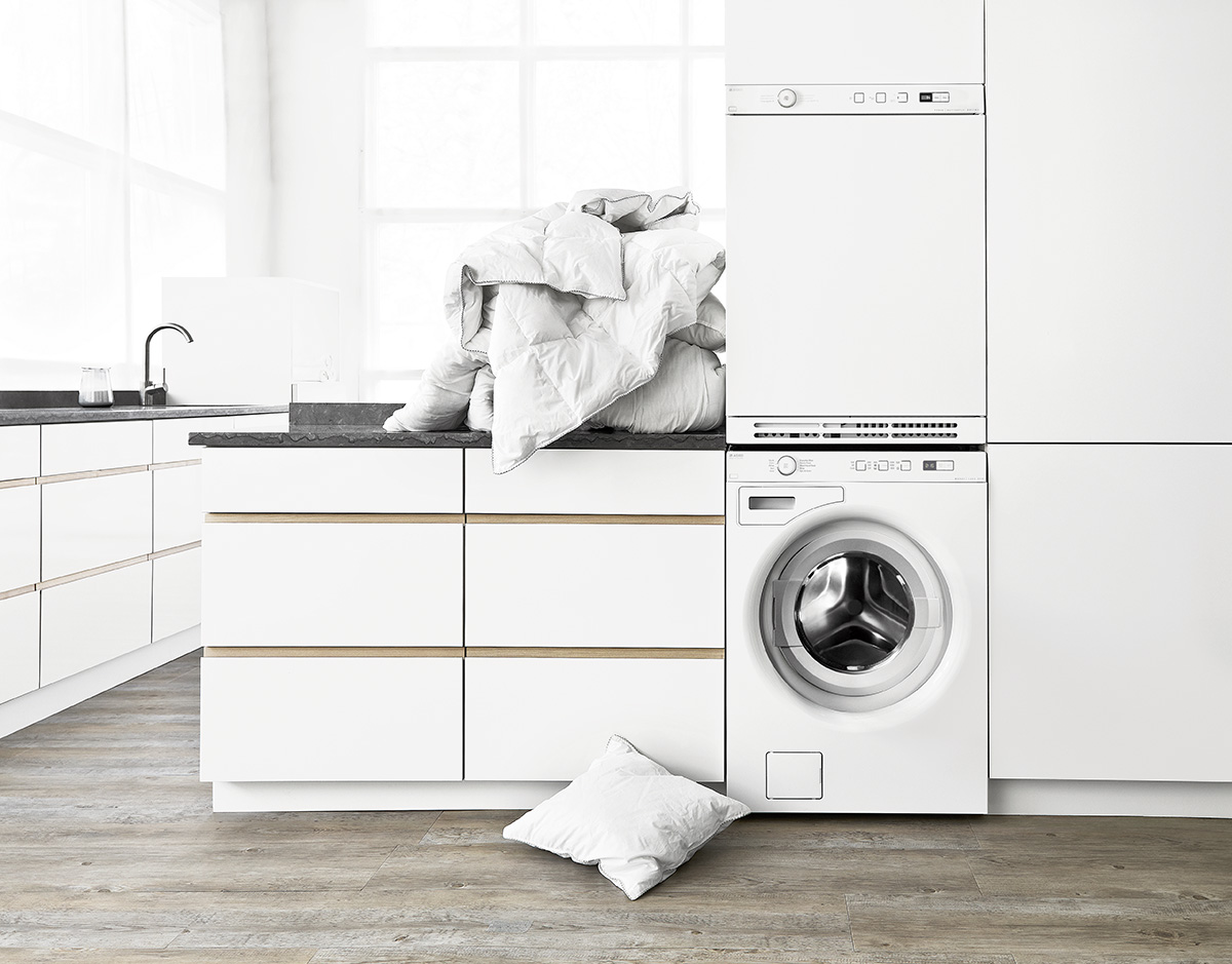 Contemporary Asko Stackable Laundry