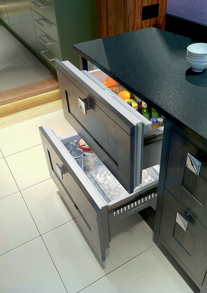 Form and Function with Sub-Zero Refrigerator Drawers
