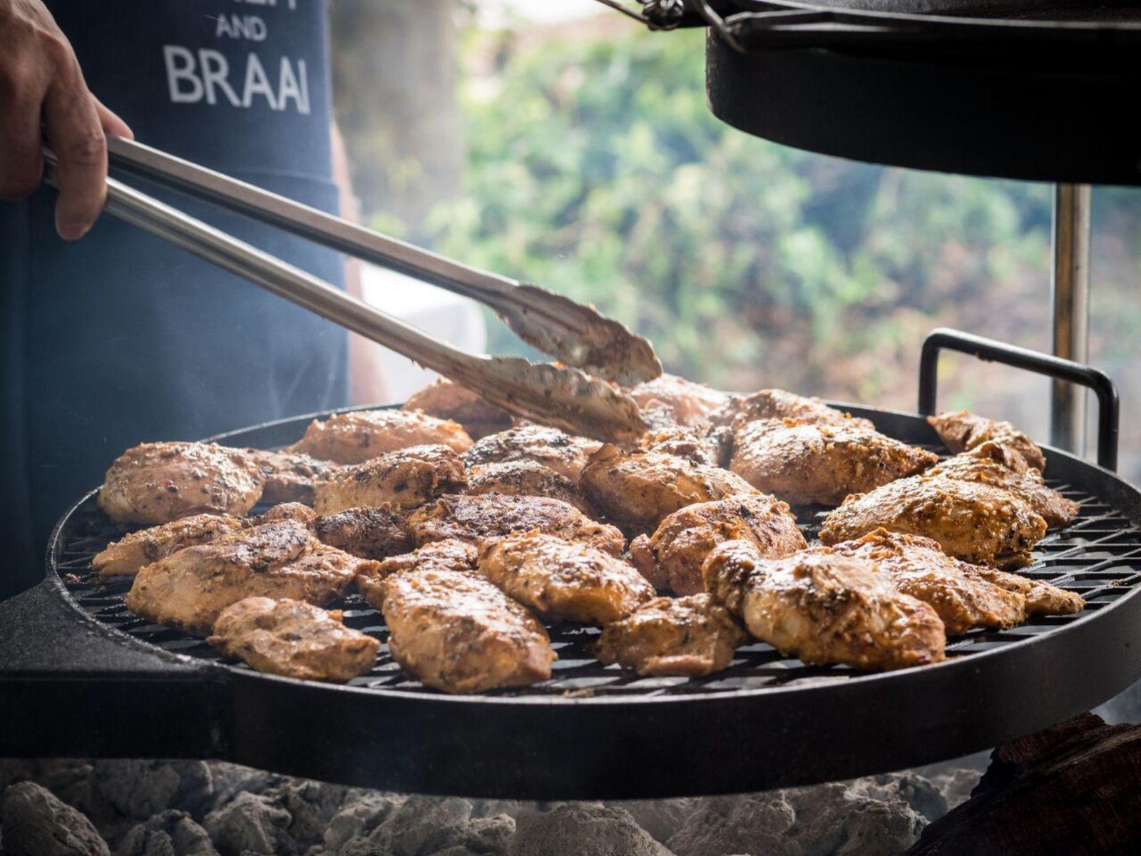 Yebo Beach Haus Braai with Kudu Grills