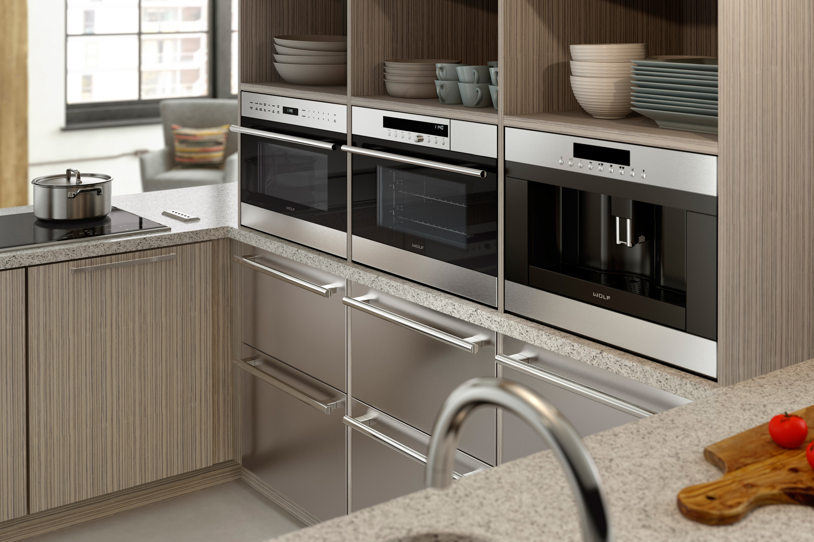 Elegant Cooking and Cleaning with Wolf, ASKO, and Waterstone