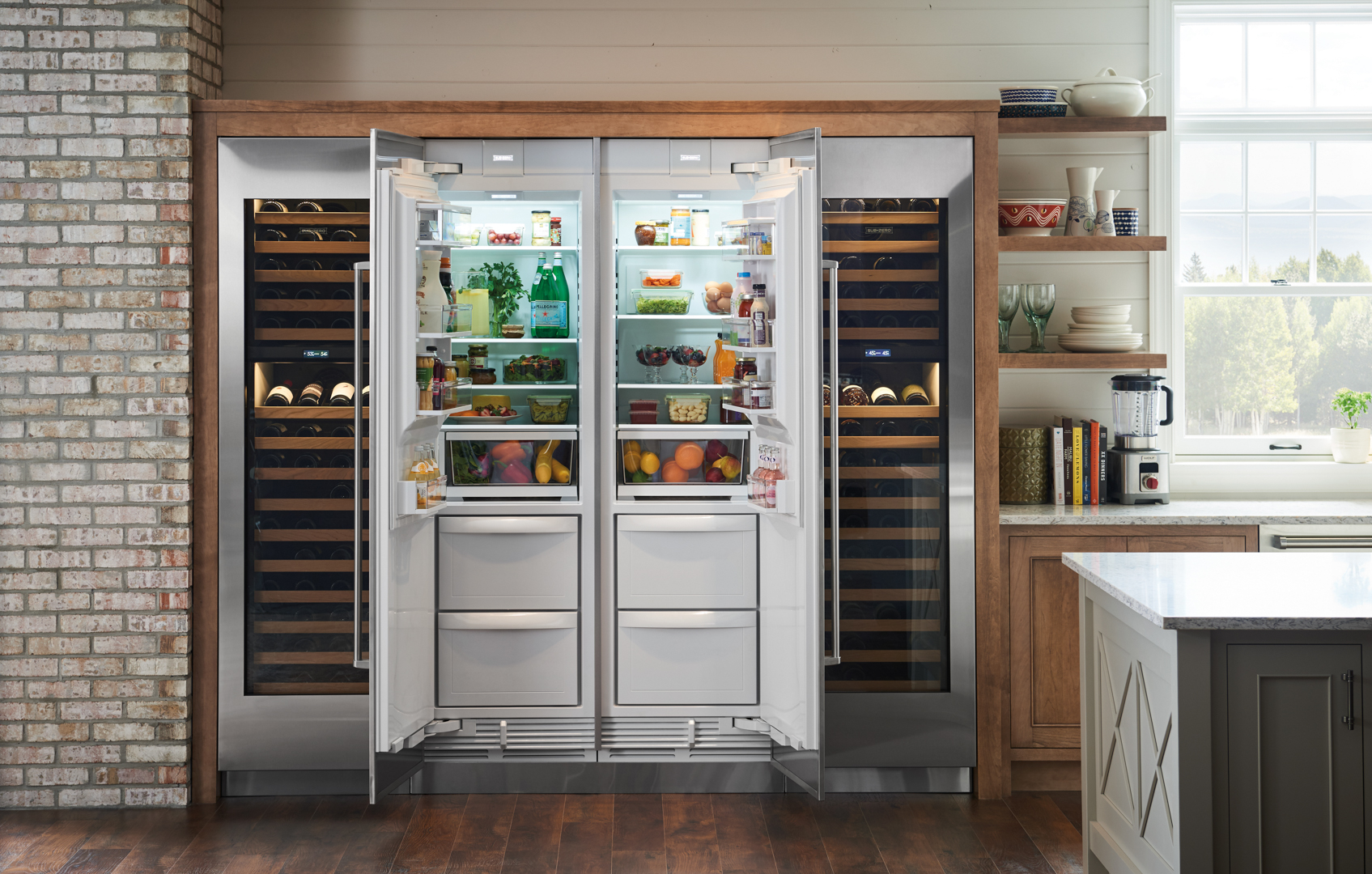Kitchens Beyond Compare with Sub-Zero Wolf
