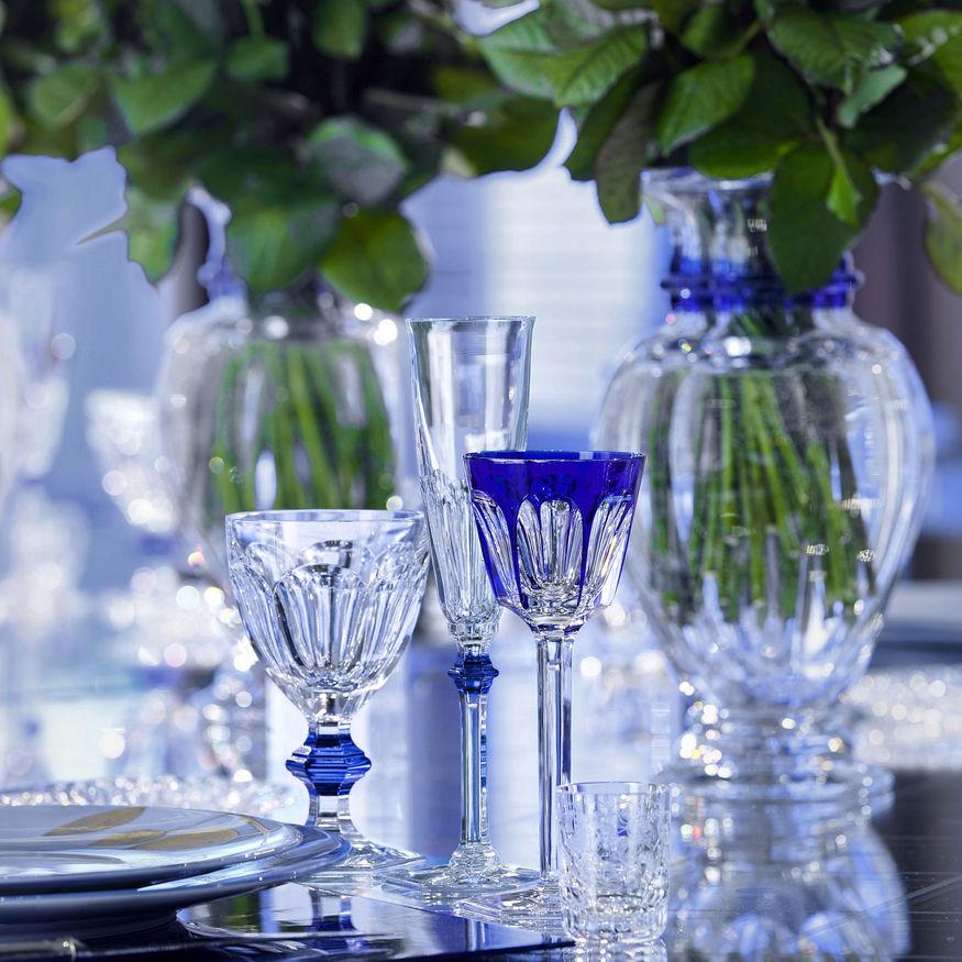 Baccarat Rhin Bleu Glass