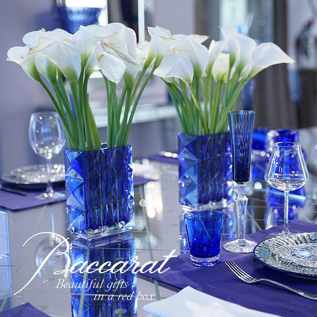 Baccarat Elegant Blue