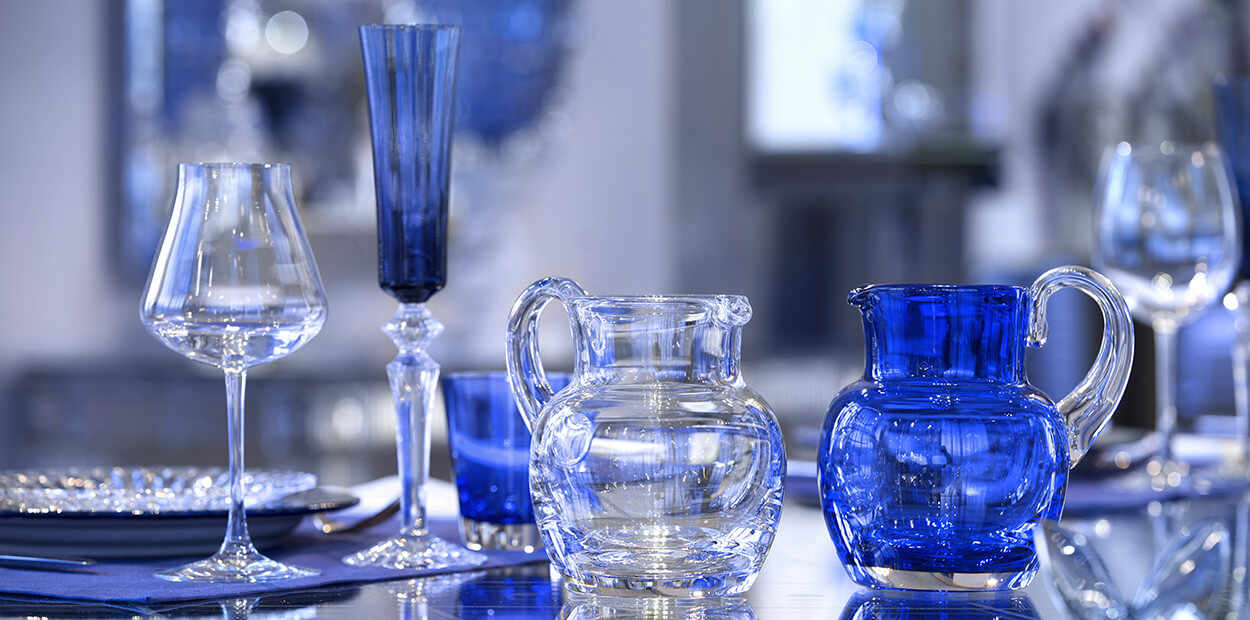 Baccarat Blue Decor