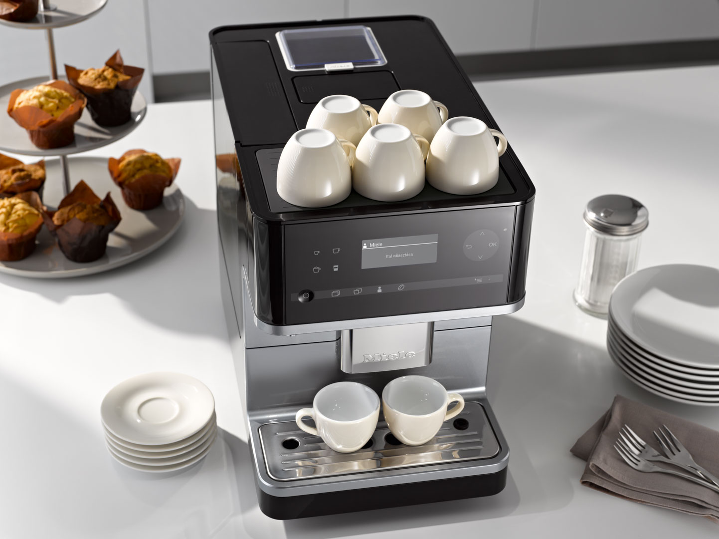 Miele Coffee Cup Warming System