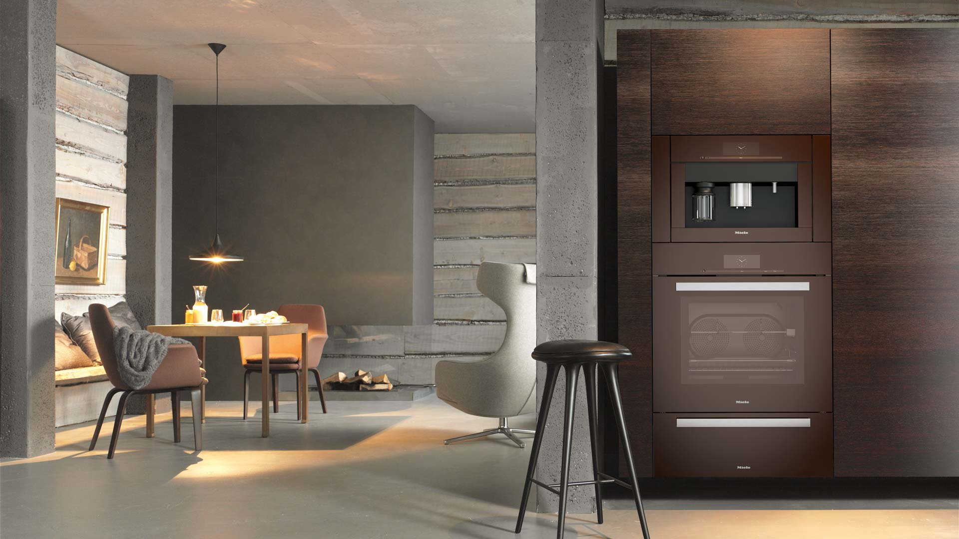 Miele Relaxed, Refined Kitchen