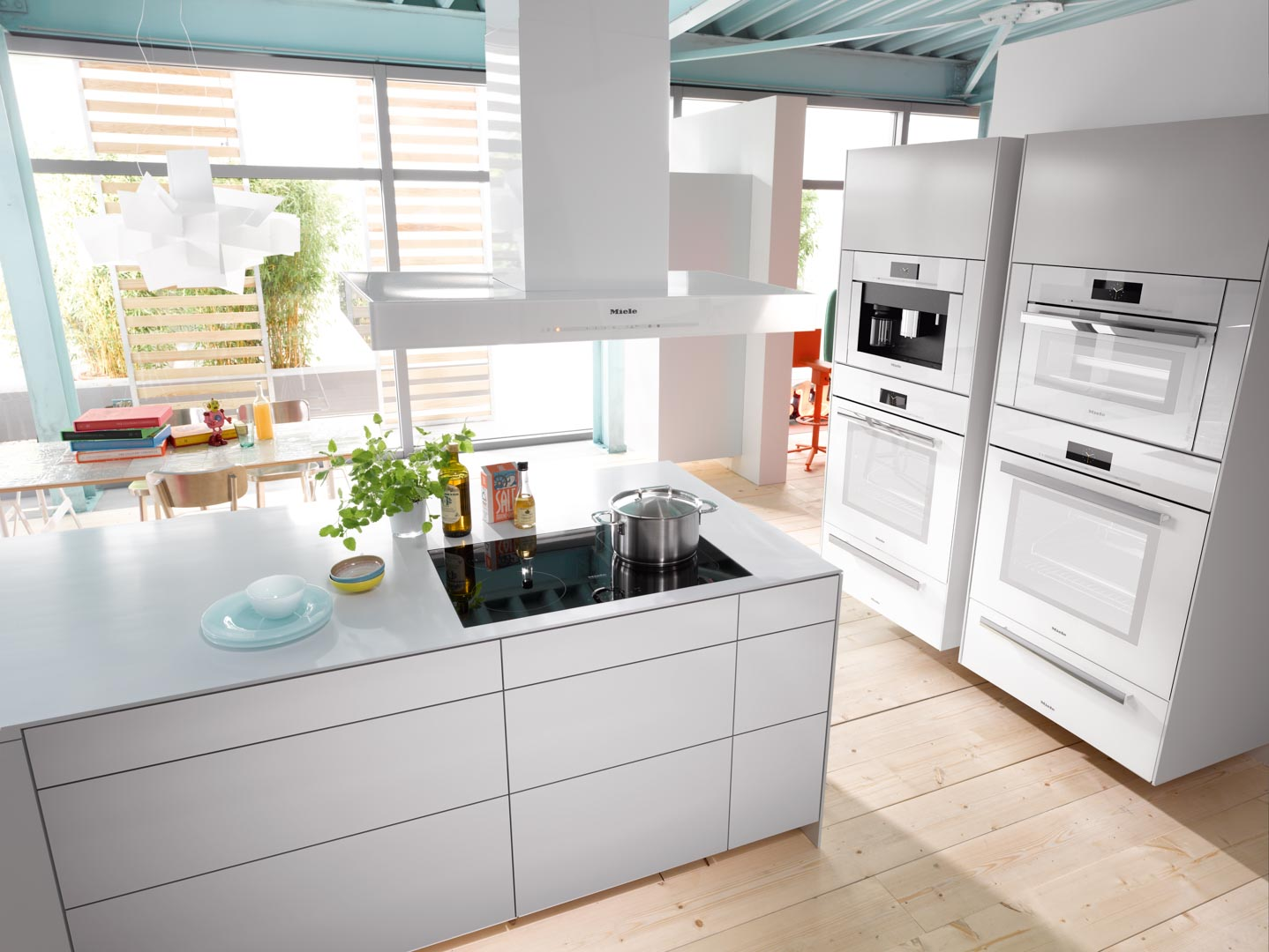 Miele Brilliant White Built-In Ovens
