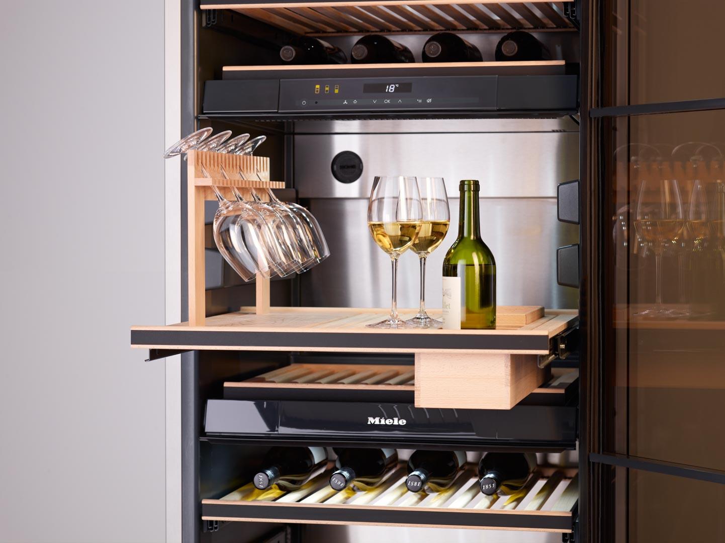 Miele Wine Storage