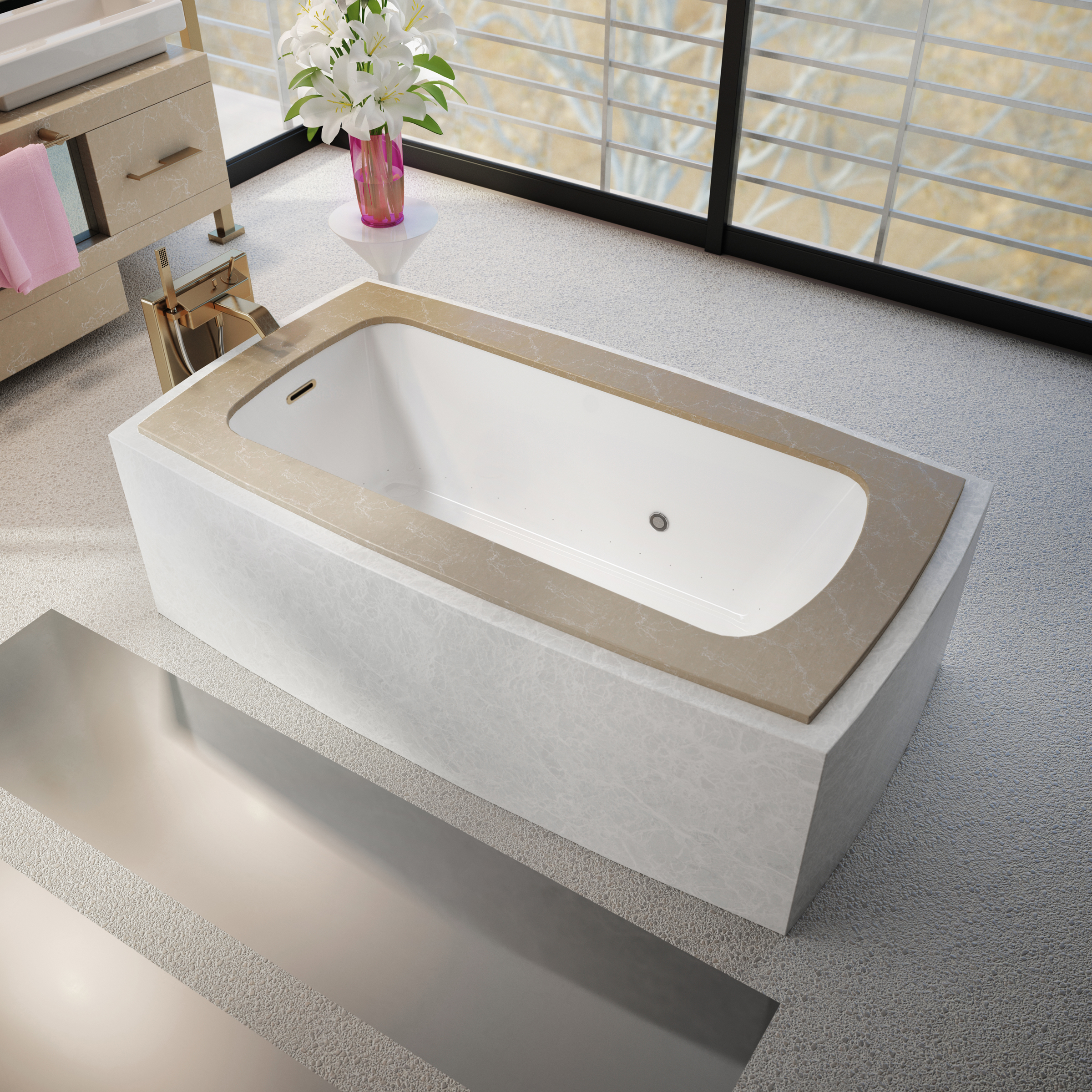 Bain Ultra Balneo Sanos Flat Deck Therapeutic Baths