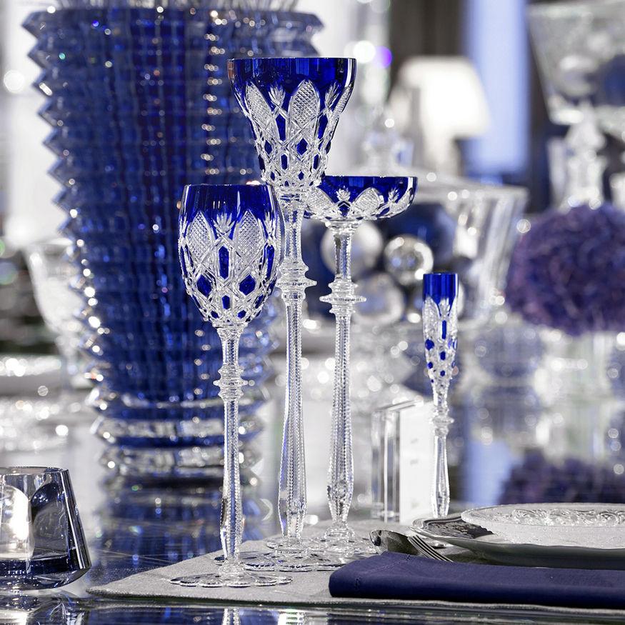 Baccarat Tsar Bleu Ambiance