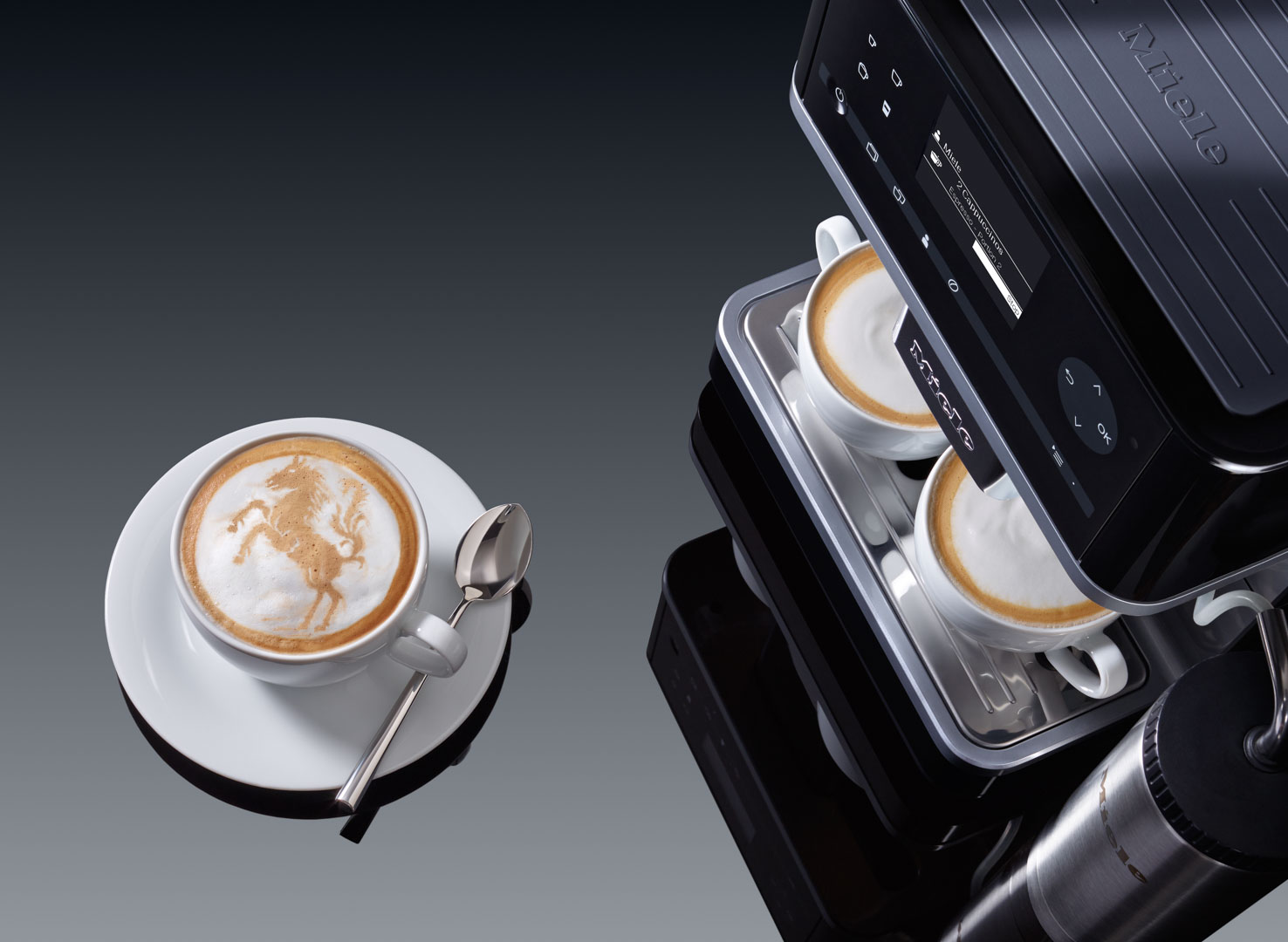 Miele Inspirational Coffee Systems