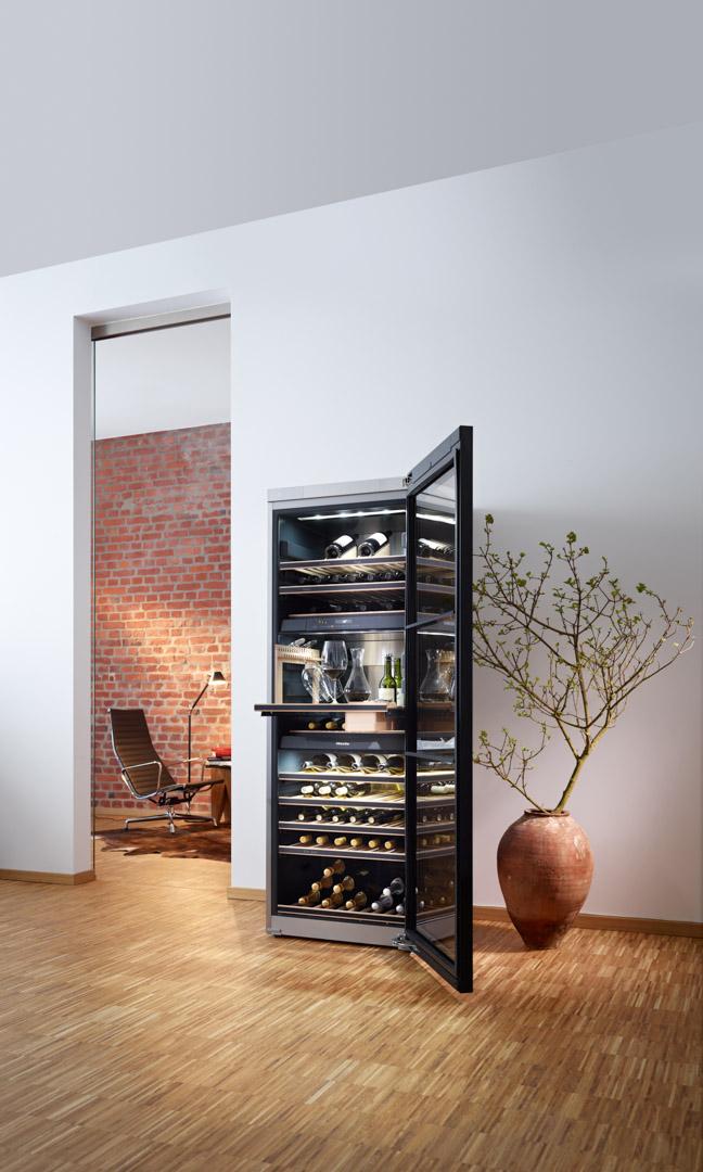 Miele High-Tech Wine Storage