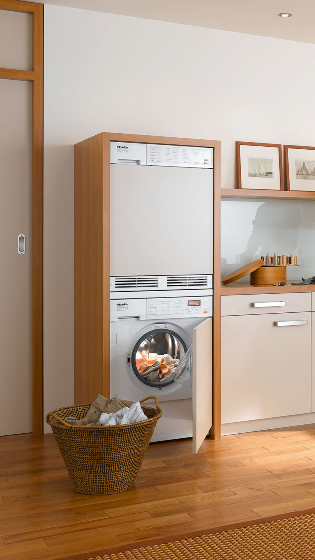 Miele Luxury Washing and Drying