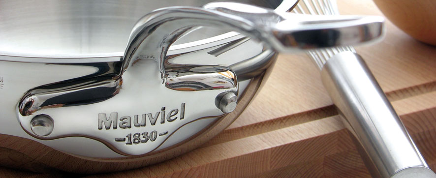 Mauviel Copper and Stainless Steel Pans