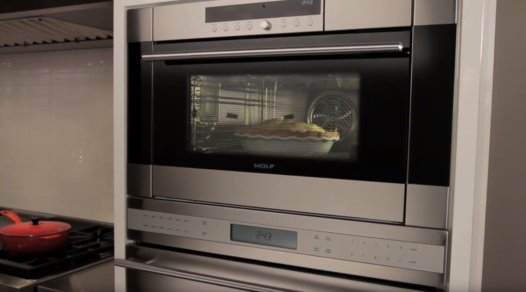Cooking with the Wolf Convection Steam Oven Video