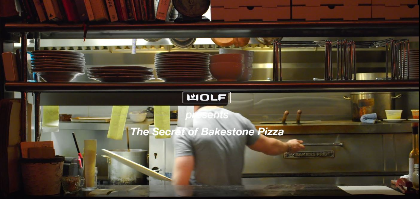Wolf Conversational Chef Bakestone Video