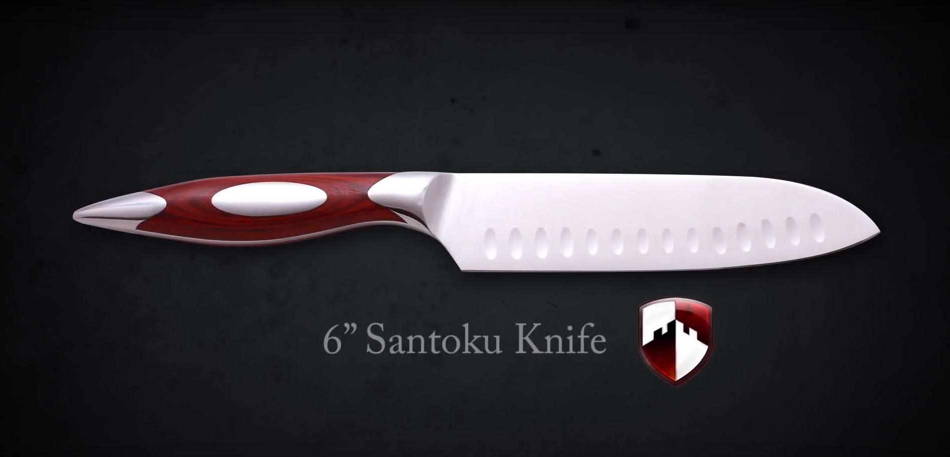 Rhineland Cutlery 6 Inch Santoku Instructional Video