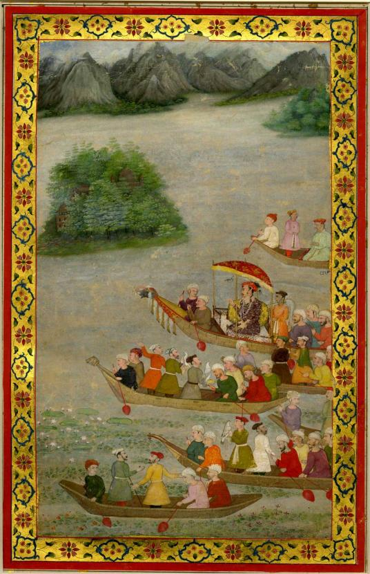 On The Threshold Of Paradise Poetry And Painting In Mughal Kashmir