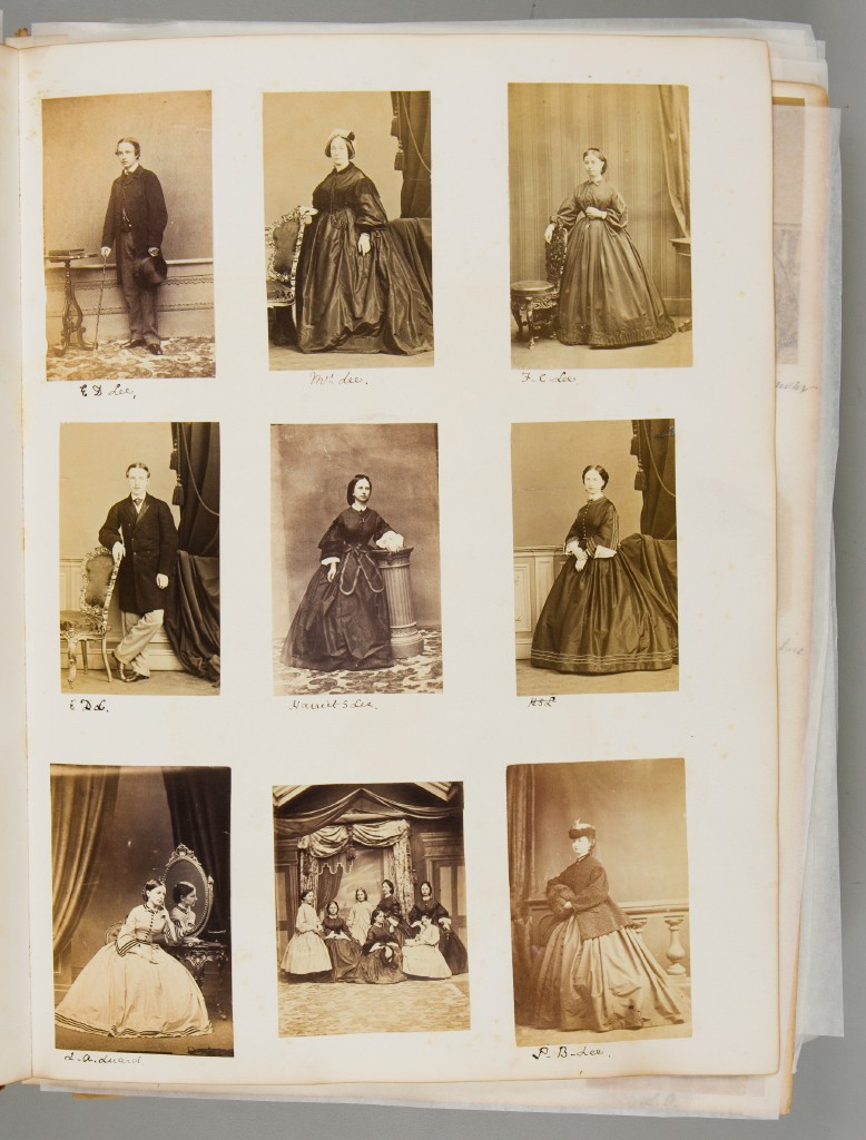 A Victorian scrapbook from Britain (1868–93).