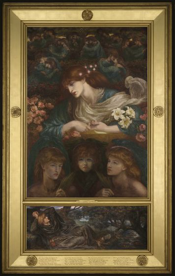 Dante Gabriel Rossetti, The Blessed Damozel, 1871–78, Harvard Art Museums/Fogg Museum.