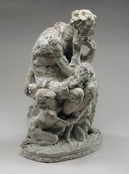 Jean Baptiste Carpeaux, Ugolino and His Children, 1860, Harvard Art Museums/Fogg Museum.