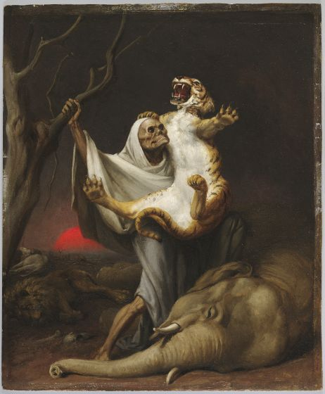 William Holbrook Beard, Power of Death, c. 1889–90, Harvard Art Museums/Fogg Museum.