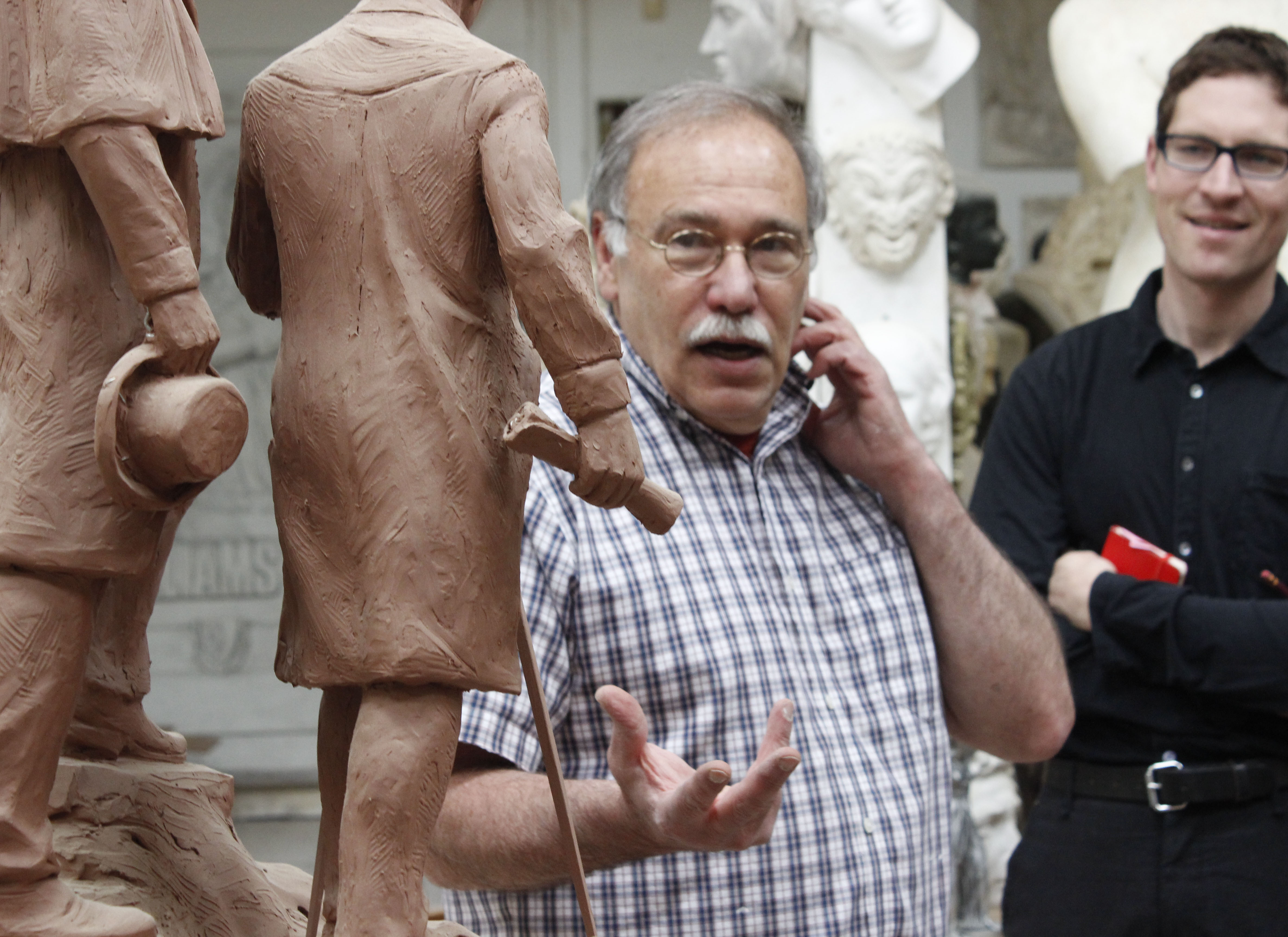 Robert Shure, sculptor and president of Skylight Studios. Photo: Jennifer Novak.