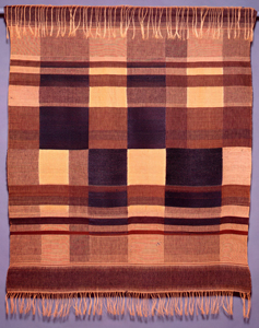 Margarete Köhler, Wall Hanging, 1921. Silk, wool, and rayon. Harvard Art Museums/Busch-Reisinger Museum, Gift of Margarete Koehler Estate, BR66.35.