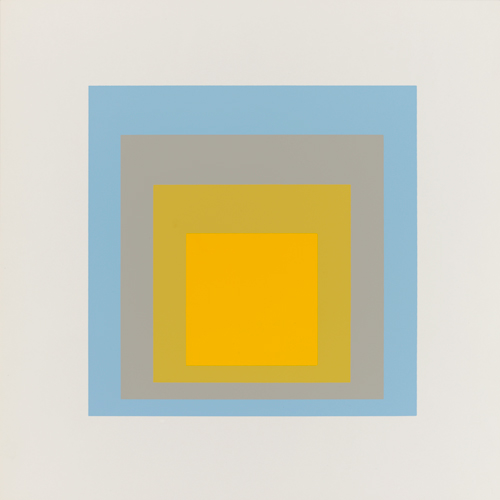 Josef Albers, Wide Light, 1962. Screenprint. Harvard Art Museums/Fogg Museum, Gift of Warren Robert Stone, M15377. © The Josef and Anni Albers Foundation/Artists Rights Society (ARS), New York.