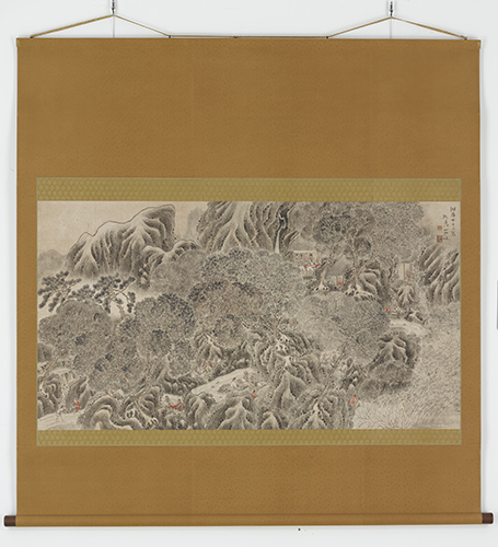Ki no Baitei, Poetry Gathering at the Lanting Pavilion, 1805. Hanging scroll; ink and light color on paper. Promised gift of Robert S. and Betsy G. Feinberg, TL41633.3. Photo: John Tsantes and Neil Greentree. © Robert Feinberg.