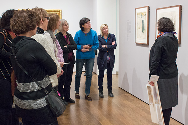 Elizabeth Rudy, the Carl A. Weyerhaeuser Associate Curator of Prints, recently gave a series of monthly talks about prints.
