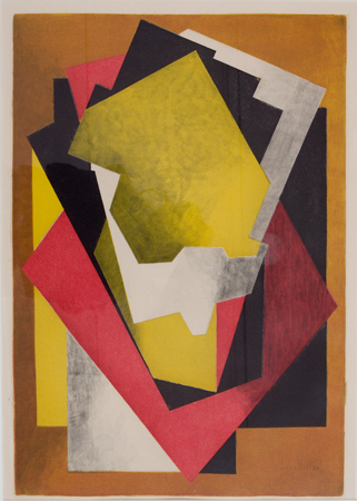 Jacques Villon, Composition, 1928, 1928. Print. Harvard Art Museums/Fogg Museum, Student Print Rental Fund, SR398.